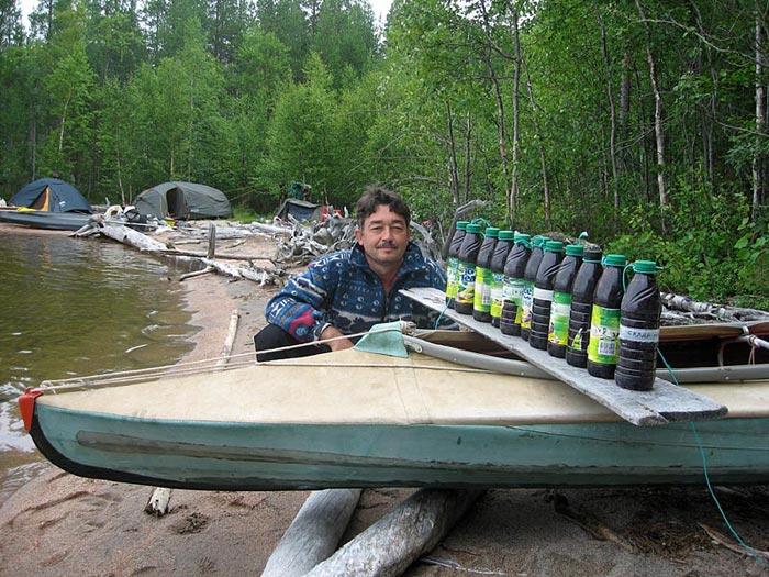 Озеро Ковдозеро. 11 вкусных друзей